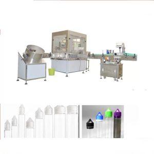 Likidoak betetzeko makina elektronikoa Siemens Touch Screen interfazearekin