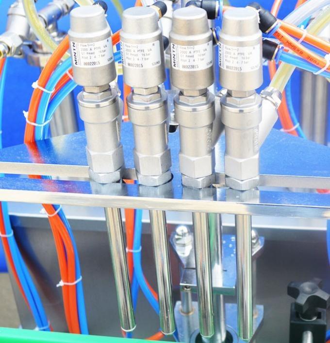Beiraren botila likidoak betetzeko makina automatikoa