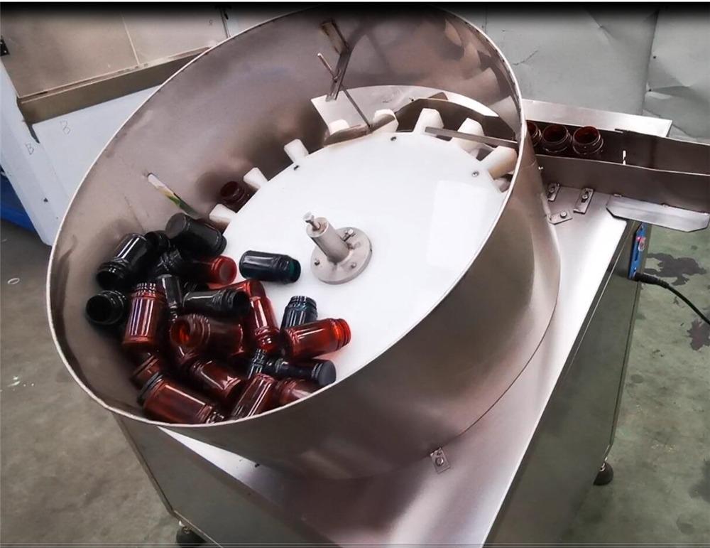 NP-SL60 buru bikoitzak pilulak ontziratutako botila kapsula betetzeko